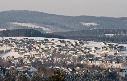 Om in stijl te blijven: sneeuw in Winterberg!
