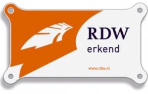 RDW erkenningsschild