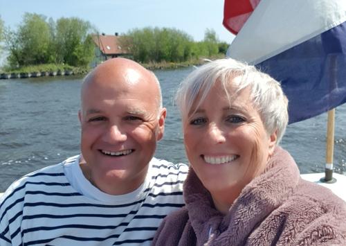 Anneke van den Bos en Eelke de Jong