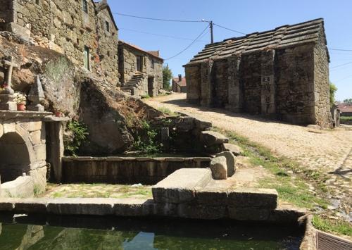 De foto is genomen in Montelegre, een gemeente in het Portugese district Vila Real.
